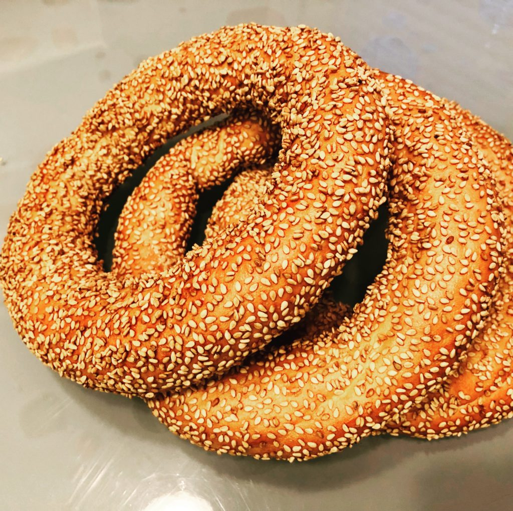 Authentic Turkish Simit